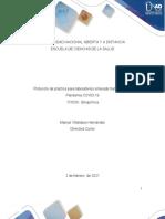 Protocolo de práctica de laboratorio virtual de Bioquimica 2021