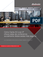 Av Over Ip Delivers Better Safer Socially Distanced Conference Rooms Corporate Audinate Es