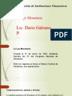 Semana 4 - Presentación Ley monetaria en Honduras