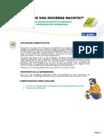 Evaluación diagnóstica DPCC. 4º 2021