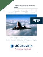Séquence Sur Le Rapport à l'Environnement-Version Prof