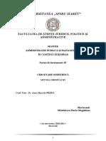 ...proiect - METODA OBSERVAȚIEI