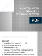 Chapter 7 Summary - Economic Growth