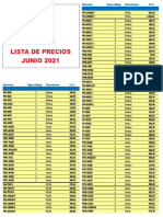 202105 Urano Lista de Precios Mayo 2021