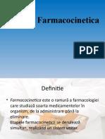 Curs. nr. 2.Farmacocinetica