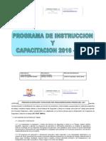 Programa de Instruccion y Capacitacion Lg Fca