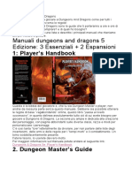 Manuali Dungeons And Dragons
