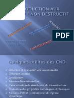1 INTRODUCTION AU CND
