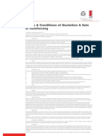 Terms and conditions of Quotation and sale of reinforcing final edited version 061207
