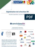 Atelier digitalisation de la fonction RH