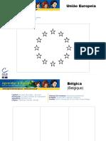 Bandeiras dos Países da UE (para colorir)