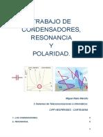 Condensadores, resonancia y polaridad. - Documentos de Google