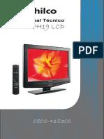 06-Manual Técníco t v Ph19 Lcd Philco
