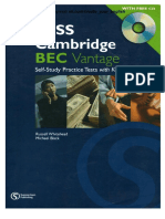 Pass Cambridge BEC Vantage - Self-Study Practice Tests With Key [EnglishOnlineClub.com]