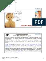 Química e Tecnologia Orgânica -  Impactos Ambientais