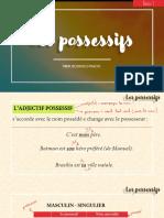 Les possessifs