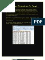 Tablas Dinámicas En Excel