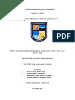 """""""Plan Anual de Seguridad y Salud en El Trabajo Para El Market _Plaza Lucy_, Huaraz - 2021"""" (1)"""