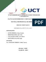 INFORME DE LA RTF - DRAWBACK