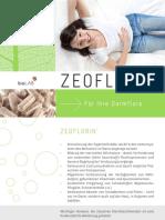 ZEOFLORIN. Für Ihre Darmflora