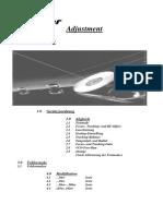 PIONEER Abgleichanleitung Lasereinheiten