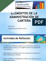 Elementos Administración de La Cartera