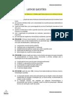 LISTA DE QUESTÕES 1 - FHTM