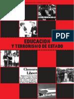Educación y Terrorismo de Estado