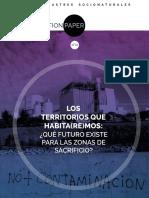 position paper los territorios que habitaremos que futuro existe para las zonas de sacrificio