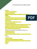Lineamientos para la Entrega de Proyecto de Análisis de Sistemas