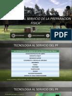 Tecnologia Al Serivicio de La Preparacion Fisica