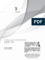 Manual Smart TV LG - LA6610