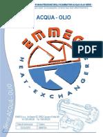 Manuale Serie Acqua-Olio