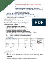 Clase 1 de Diseño en Acero y Madera c2 21 de Abril 2020