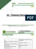 04 - Sistema Hidráulico Trator Jhon Deere