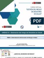 PPT U3-T4 Determinación Del Escenario de Riesgo en Salud