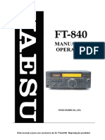 Manual FT-840