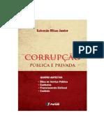 CORRUPÇÃO PÚBLICA E PRIVADA – QUATRO ASPECTOS