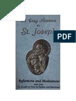 31 Day Novena to St Joseph