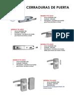 Catálogo de Cerraduras de Puerta (1)