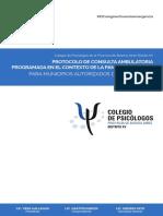 Protocolo de Consulta Ambulatoria Programada en contecto de la  Pandemia