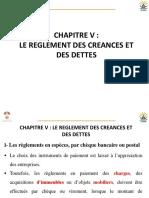 Compta générale S2 Ch5- les réglements des dettes et créances- Les effets de commerce