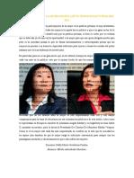PERCEPCION SOBRE LA MUJER POLITICA EN EL PROCESO ELECTORAL DEL 2021