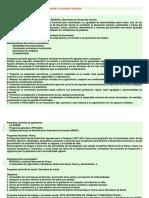 Programas Sectoriales Del Medio Ambiente y Recursos Naturales