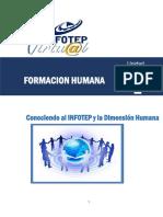 GUIA UNIDAD 1 FORMACION HUMANA