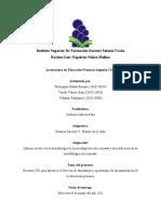 Informe escrito con la metodología de la investigación seleccionada y  la justificación de la metodología seleccionada