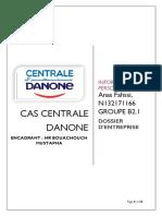 Anas FAHSSI. Centrale Danone