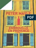 Mayle,Peter-Sam Levitt 2 Embrouille en Provence