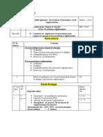 séquence N 4Les provisions pour risques et charges