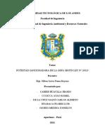 POTESTAD SANCIONADORA DE LA OEFA SEGÚN LEY N° 29325